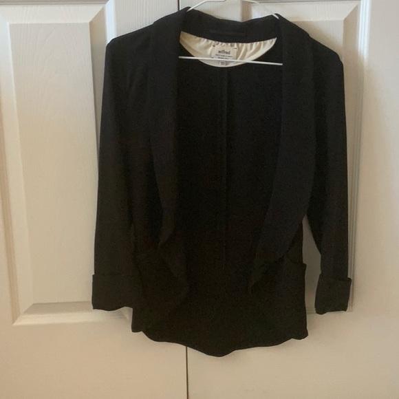 Black blazer from Wilfred